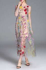 floral maxi sheer swing dress floral floral maxi and clothes