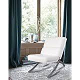 White Living Room Chair Amazon Com White Chairs Living Room Furniture Home U0026 Kitchen