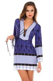 print dress zoe tunic style geometric print dress a 1009 aa 11