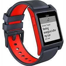 amazon com pebble 2 heart rate smart watch black flame amazon