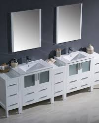 Bathroom Vanity With Side Cabinet Fresca Torino 96