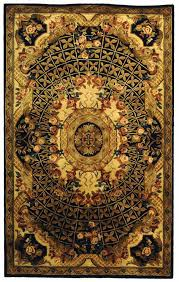 Brown And Black Rugs Black And Gold Area Rug Roselawnlutheran