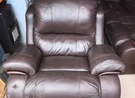 Swivel Reclining Armchair Brown Leather Reclining Lazy Boy Sofa And Swivel Reclining Chair
