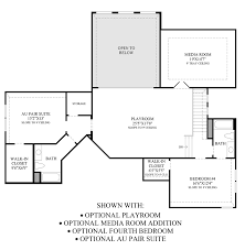 2 Bedroom Addition Floor Plans Montgomery Farm Estates The Milanese Home Design