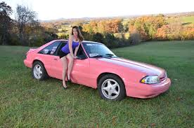 ford mustang 4 cylinder ebay find pink fox mustang converted from 4 cyl to v8