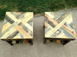 tables made out of pallets end tables made from pallets wood pallet end table pallet end tables