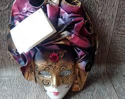 womens masquerade masks12 christmas tree miniature mask etsy