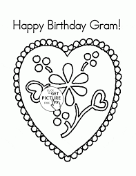 coloring pages happy birthday happy birthday gram coloring page for kids holiday coloring pages