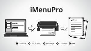 imenupro restaurant menu maker design and edit menus online