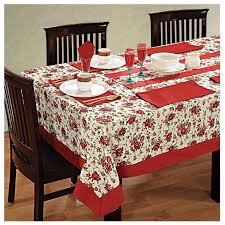 6 Seat Kitchen Table by Dinner Party Table Linen Set 6 Seater Kitchen Dining Tablecloth