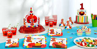 party goods elmo 1st birthday party supplies party city