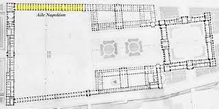 file aile napoléon on an 1852 plan of the louvre by visconti jpg