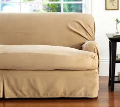 Sofa Seat Cushion Slipcovers Separate Seat T Arm Cushion Loose Fit Slipcover Suedecloth