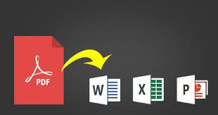 Convert Pdf To Word How To Convert Pdf Files To Word Excel And Powerpoint