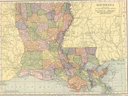 Louisiana City Map by The Usgenweb Archives Digital Map Library Hammonds 1910 Atlas