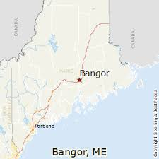 maine map with cities best places to live in bangor maine