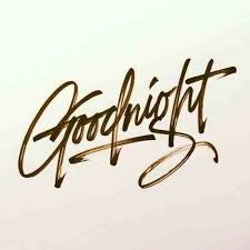 good night letter letter world