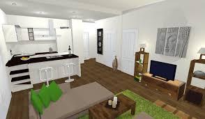 projet cuisine 3d 19 avant projet vue 3d cuisine ouverte sur salon cuisines