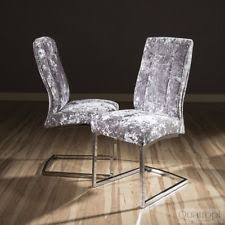 Silver Dining Chairs Silver Dining Room Chairs Ebay