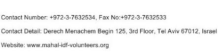 Israel Ministry Of Interior Ministry Of Interior Israel Address Contact Number Email Address