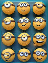 minion cupcake cake cup cake cupcakes cup cakes cups and cake