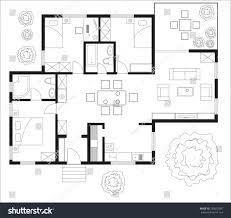 100 floor plans vector floor plan of a major building u2014