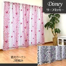 Curtains 100 Length Kodawari Anminkan Rakuten Global Market Disney Character