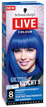 sachets of hair colours 2015 schwarzkopf live colour live colour ultra brights electric