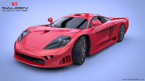 saleen saleen s7 twin turbo 3d model on behance