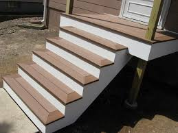 composite deck stairs ideas doherty house special ideas for