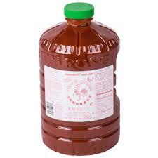 sriracha bottle back huy fong 8 5 lb sriracha chili sauce