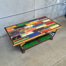 coffee table made from reclaimed boat wood u2013 urbanamericana