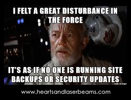 It Security Meme - funny memes to celebrate our new site maintenance services steph