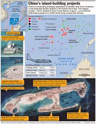 South China Sea Map China U0027s Island Building In The South China Sea Another War Or