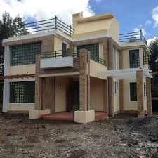 the finished house conte 4 bedroom house plan adroit architecture house plans in kenya