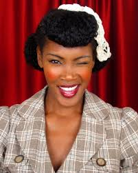natural pin up hairstyles for black women protective hairstyles for black women natural hair updos 8