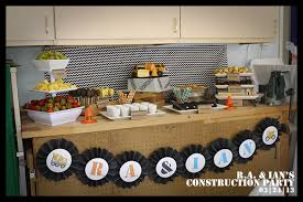 construction themed birthday party short u0026 sweets