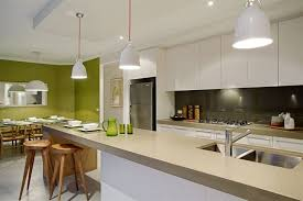 kitchen feature wall ideas kitchen with lime trimmings and a lime green feature wall