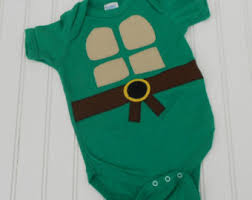Toddler Tmnt Halloween Costumes Baby Turtle Costume Etsy