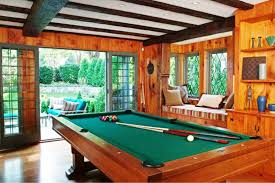 Billiard Room Decor Trendy Pool Table In Living Room Ideas
