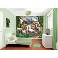 dulux bedroom in a box jungle adventure wall mural paint kit bedroom in a box jungle adventure wall mural amp paint kit