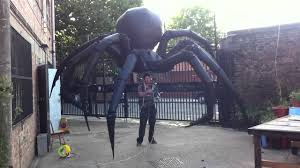 giant spider puppet youtube