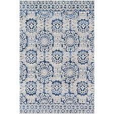 Blue Contemporary Rugs Magnolia Home Lotus Rug Lb 06 Joanna Gaines Contemporary Rugs