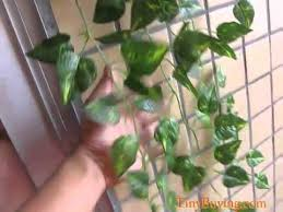 Artificial Plant Decoration Home Artificial Hanging Vine Plant Silk Leaf Garland For Home Garden