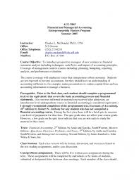 Venture Capital Resume Sample Resume For High Graduate With Experience 23
