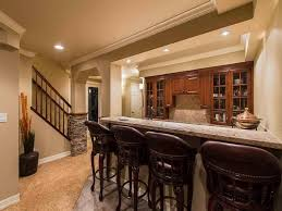 nice houses with finished basements home basement bar design ideas