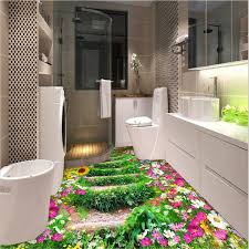 aliexpress com buy modern bathroom kitchen 3d floor painting