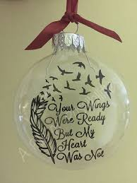 your wings floating memorial ornament by sassyclassysouthern diy