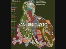 Map Of Balboa Park San Diego by Interactive San Diego Zoo Map Youtube