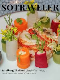 magazine guide cuisine savelberg michelin 1 cuisine with a twist of